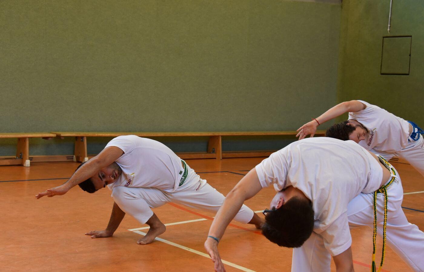 Dehnübungen beim Capoeiratraining