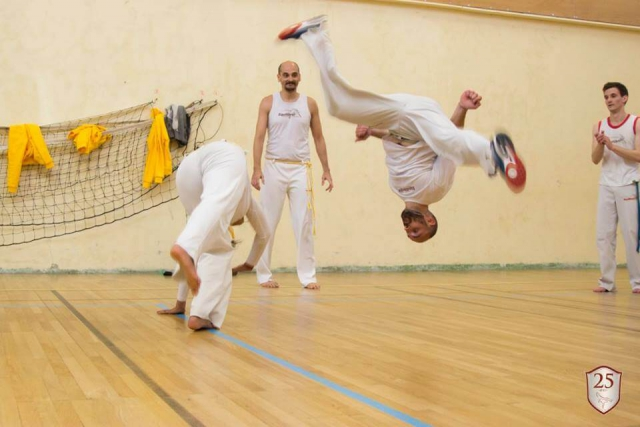 Capoeira Training: Au sem Mao