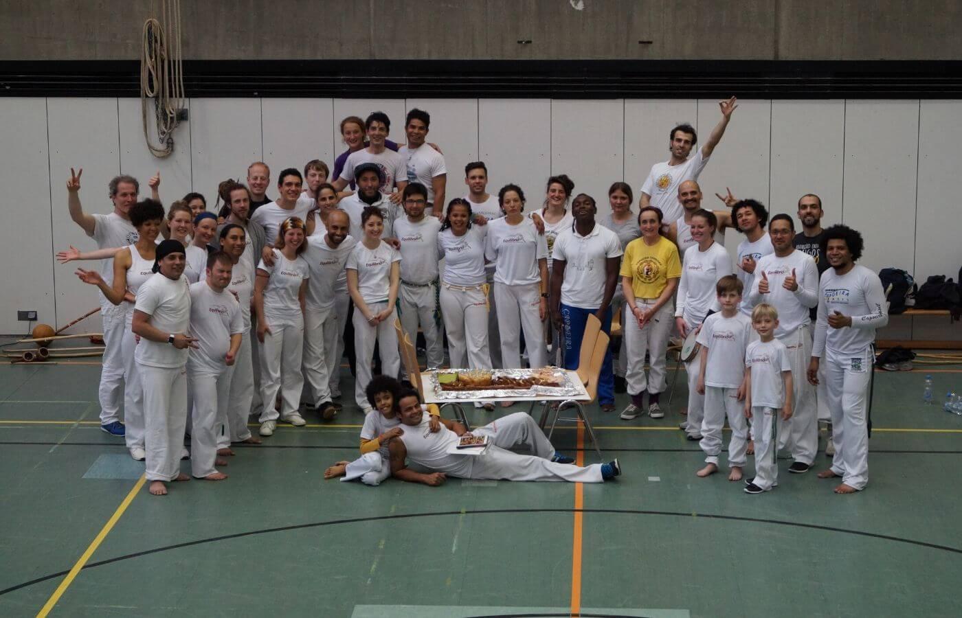 Capoeira-Workshop mit Gästen der Gruppe Equilibrio Frankreich und Brasilen