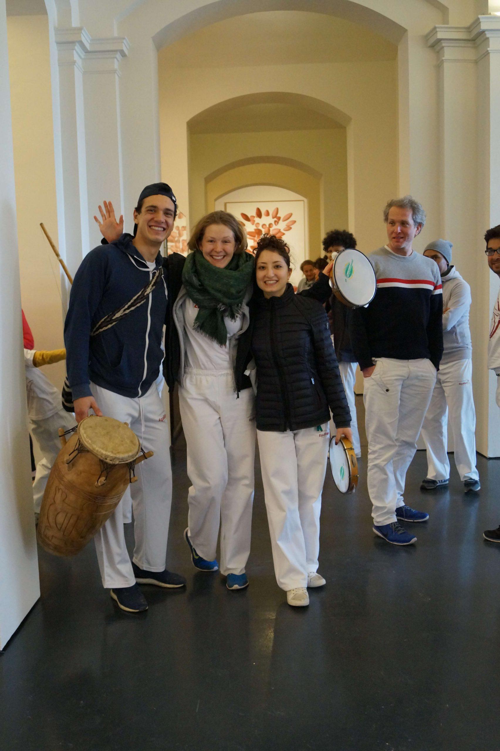 Capoeira im Arp-Museum Rolandseck