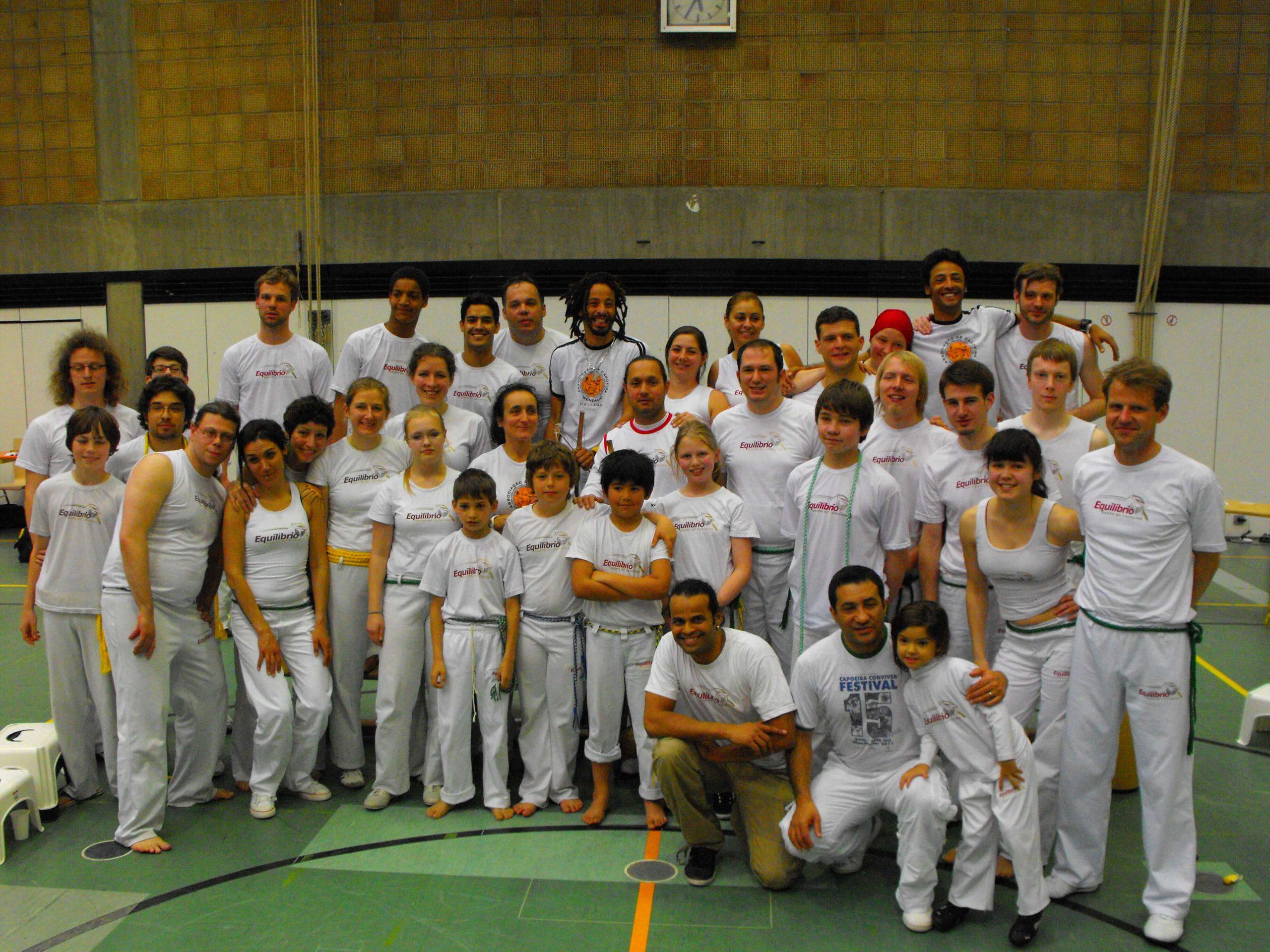 Grupo Equilibrio bietet auch Capoeira Training für Kinder