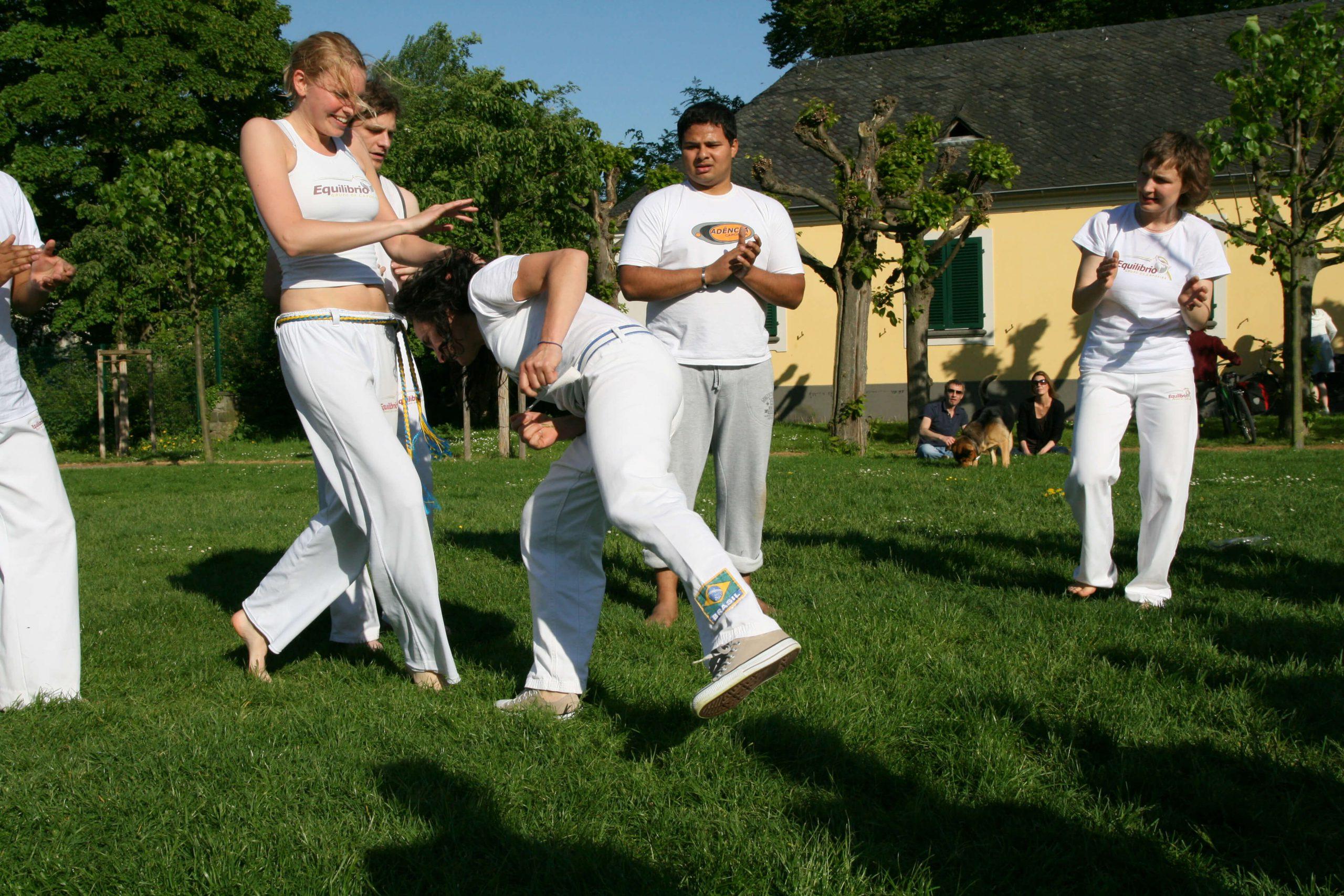 Cabeçada beim Capoeira in Bonn