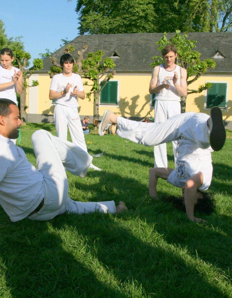Roda der Gruppe Capoeira Equilibrio Bonn
